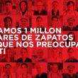 Bata dona 1 millón de pares de zapatos a trabajadores de la salud, voluntarios y organizaciones